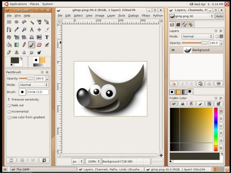 GIMP 2.8.10