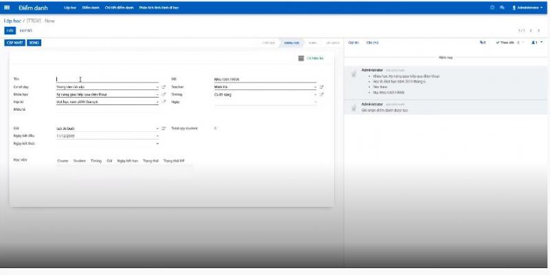Phần mềm quản lý Giáo dục BIZapps