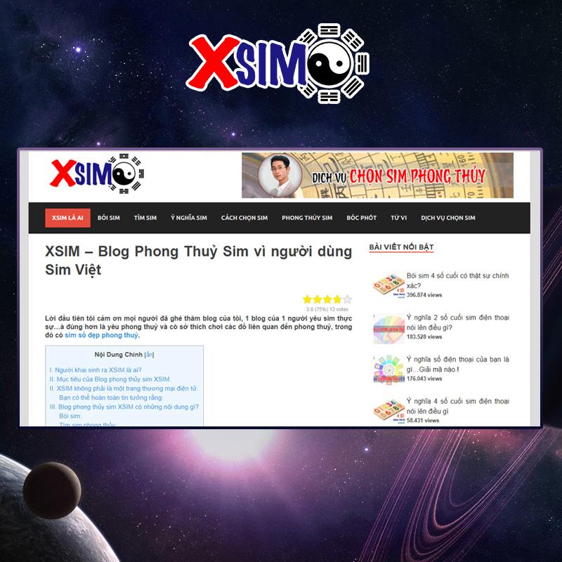 Phần mềm tra cứu ý nghĩa số điện thoại của Xsim