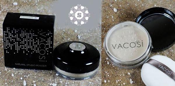 Phấn phủ dạng bột Vacosi Loose Powder Natural Studio