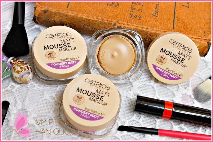 Phấn tươi Catrice Mousse Make Up