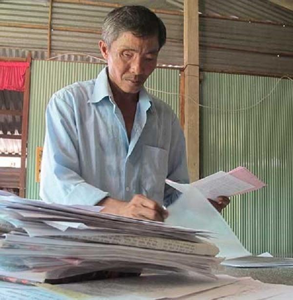 Ông Phan Văn Lá bị cơ quan chức năng bỏ mặc với 21 năm mang thân phận bị can