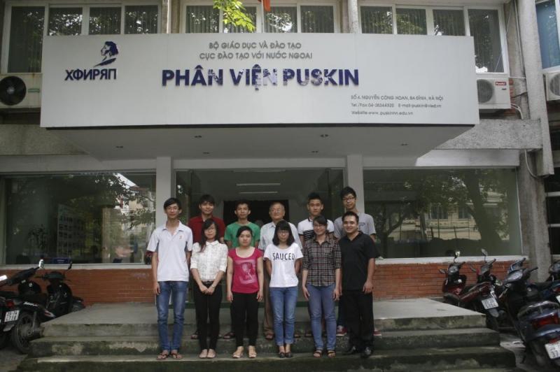Phân viện Puskin -  trung tâm dạy tiếng Nga tốt nhất tại Hà Nội