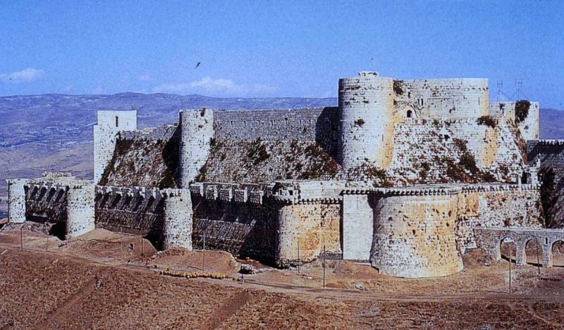 Pháo đài Crac des Chevaliers, Syria