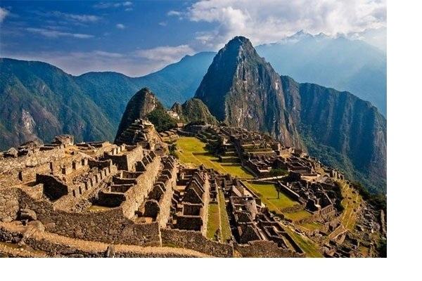 Pháo đài được xây dựng theo phong cách cổ điển của người Inca