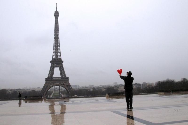 Pháp được xem là địa điểm tổ chức Valentine lãng mạn nhất trên thế giới