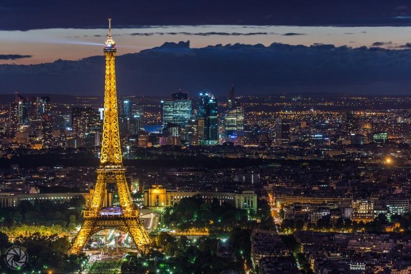 Thủ đô Paris hoa lệ của Pháp