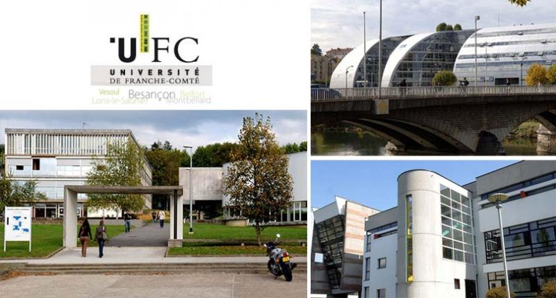 Đại học Franche-Comté, Pháp