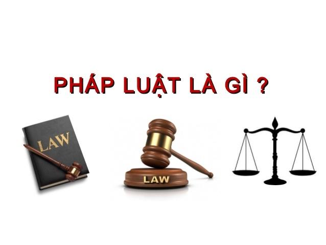 định nghĩa pháp luật
