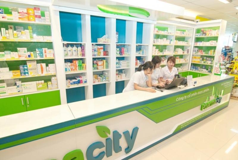 Bên trong một hiệu thuốc của Pharmacity
