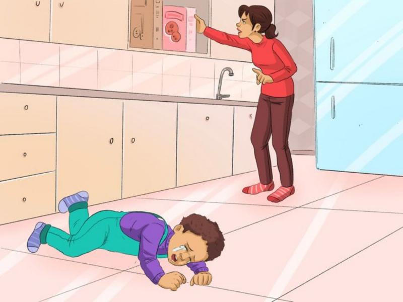 Khi bố mẹ vắng nhà, không cho người lạ vào