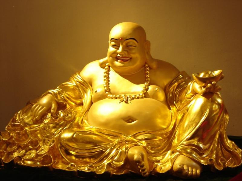 Tượng Phật Di Lặc giúp mang lại may mắn, sức khỏe