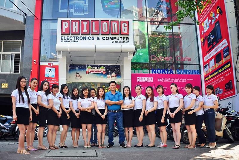 Đội ngũ tư vấn bán hàng và chăm sóc khách hàng tại Phi Long Computer Huế