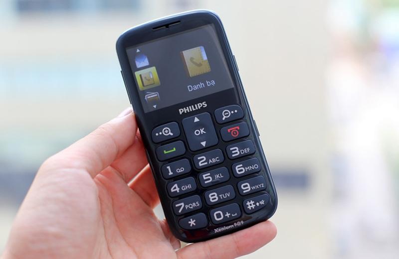 Philips Xenium X2566 - Chiếc điện thoại cho người già phù hợp nhất