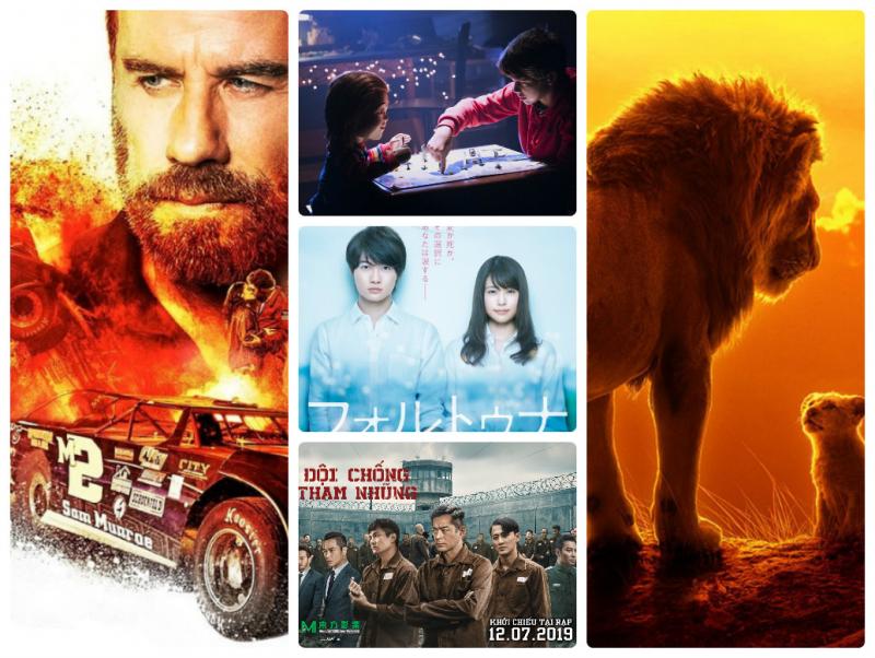 Top 10 phim chiếu rạp tháng 7 năm 2019 hot nhất