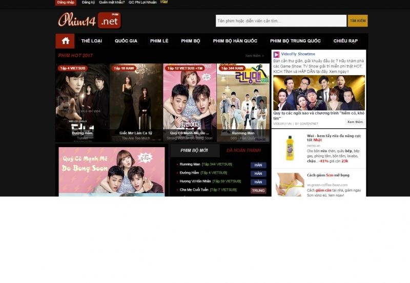 Phim được Website cập nhập nhanh nhất