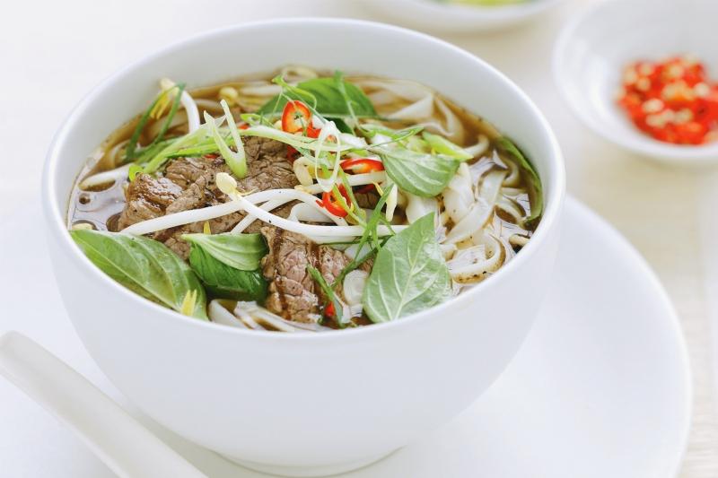 Phở là một món ăn truyền thống của Việt Nam