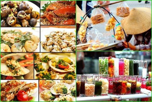 Một số món ăn đường phố tại Sài Gòn