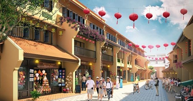 Phố bán giày dép ở đường Bạch Đằng và Hoàng Văn Thụ