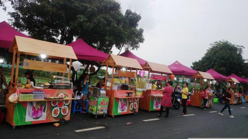 Một góc phố đi bộ Trịnh Công Sơn
