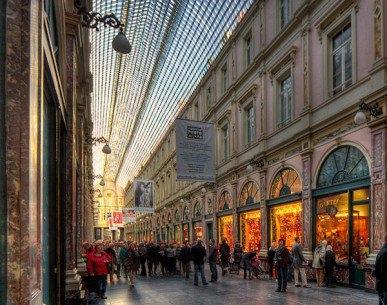 Phố Galeries Royales Saint-Hubert, Brussels, Bỉ