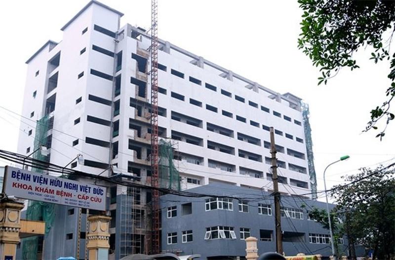Bệnh viện Việt Đức nơi bác sĩ Hà công tác