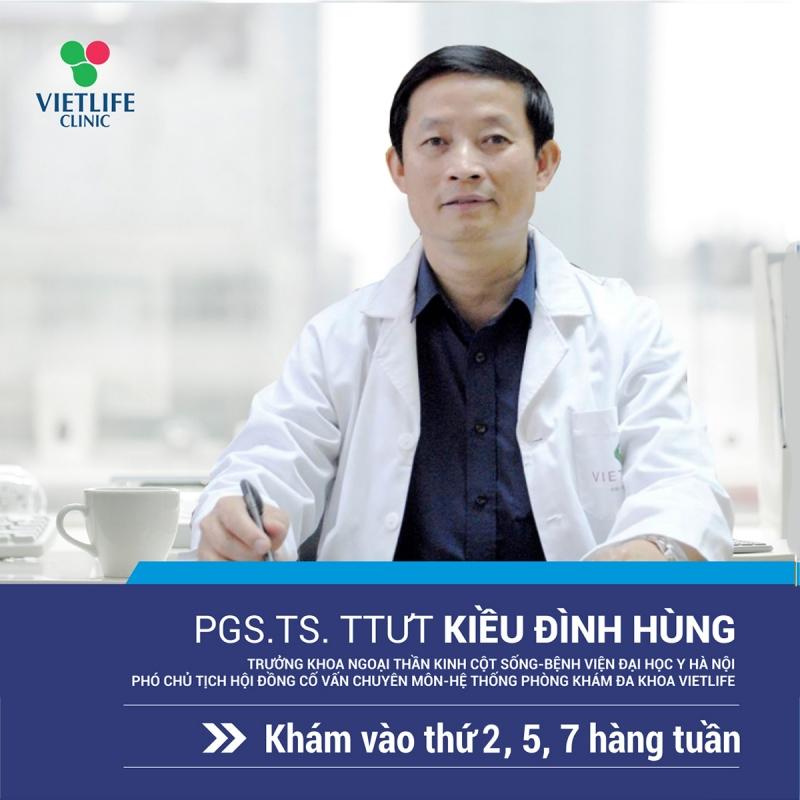 Phó giáo sư, Tiến sĩ Kiều Đình Hùng