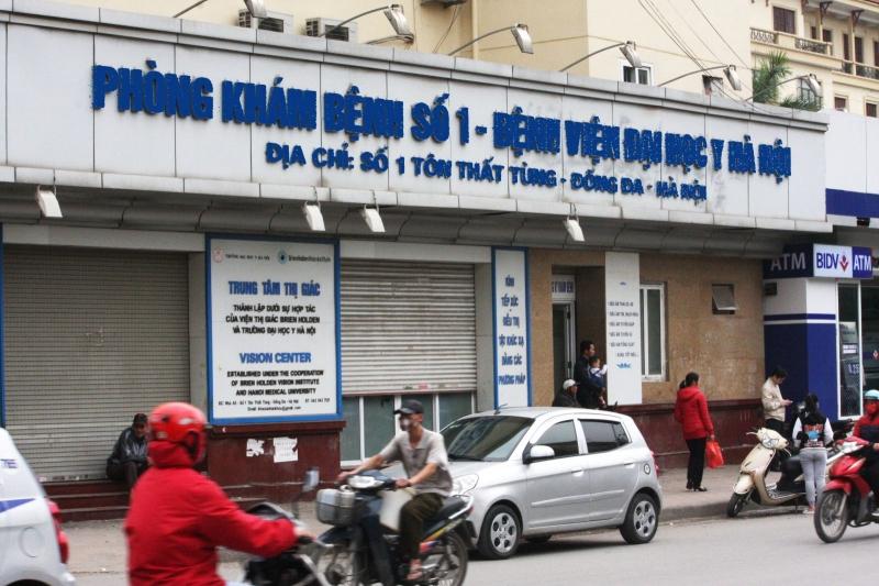 Phòng khám số 1 Đại học Y Hà Nội nơi bác sĩ làm việc
