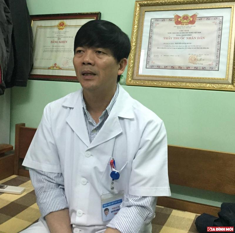 Phó Giáo sư, Tiến sĩ Nguyễn Xuân Hùng