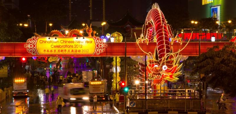 Phố người Hoa ở Singapore