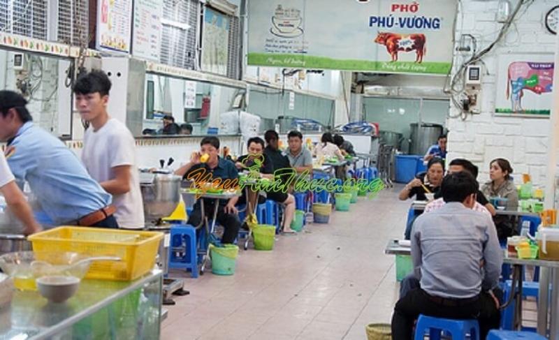 Cơ sở của phở Phú Vương
