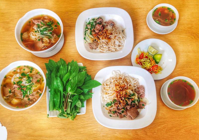 Phở trộn mang đậm phong thái ăn uống của người Sài Thành