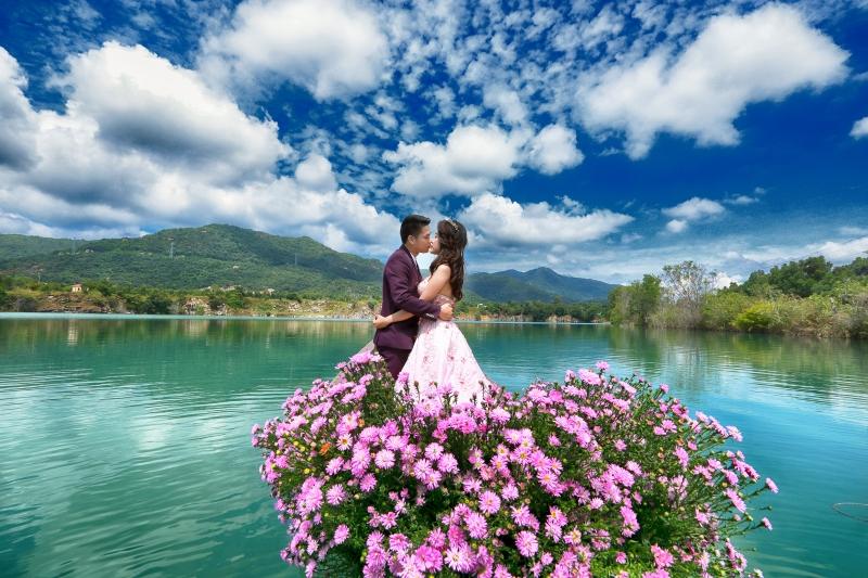 Phong cách chụp ảnh cưới tự nhiên, đầy cuốn hút