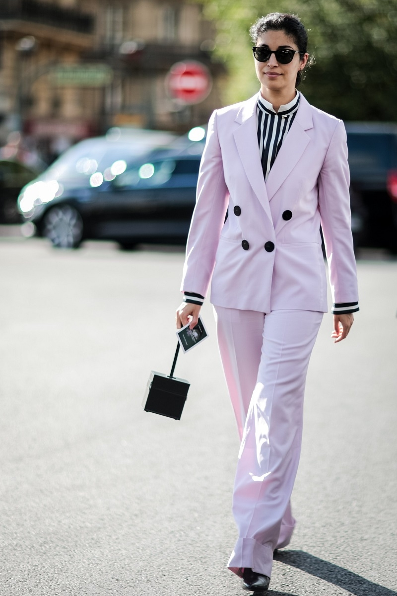 Thời trang comple của những năm 80 đã được biến tấu