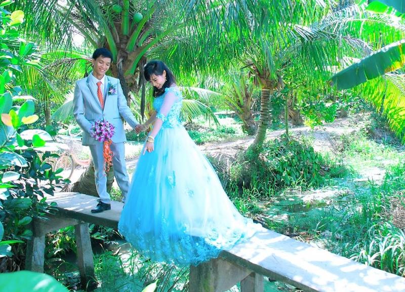 Phong cảnh miệt vườn, đầm Sen