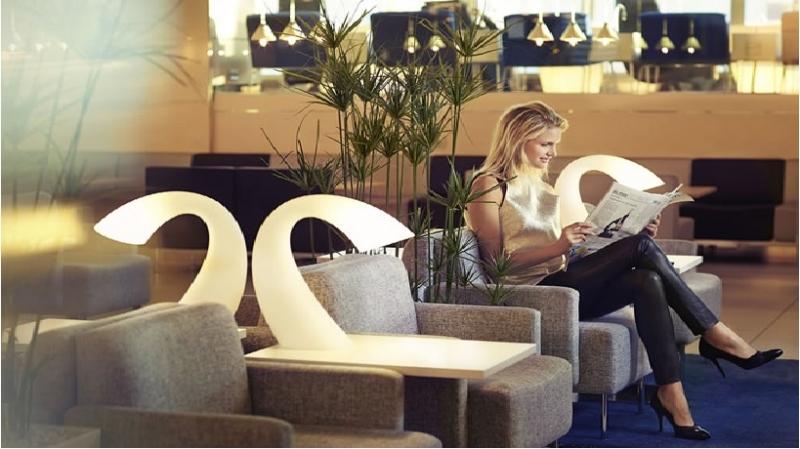 Du khách có thể thoải mái thư giãn sau chuyến bay