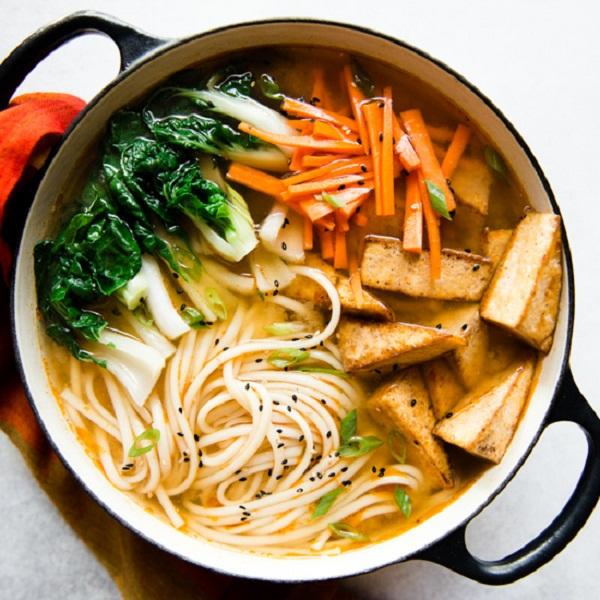 Mì udon có hàm lượng dinh dưỡng cao