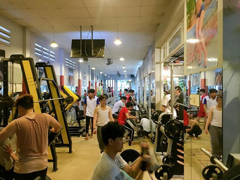 Phòng Gym Hồng Mai