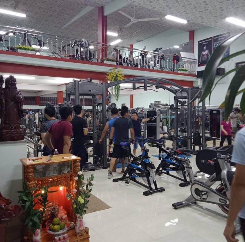 Phòng gym Nguyễn Kim