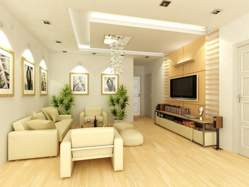 Nếu xây nhà có hai phòng khách thì cần có sự phân chia diện tích phù hợp, phòng khách phía trước nên lớn, phía sau nên nhỏ, tuyệt đối không được ngược lại. Hạn chế bài trí gương, vật phản quang đối diện cổng chính, hãy đặt lệch sang một chút.