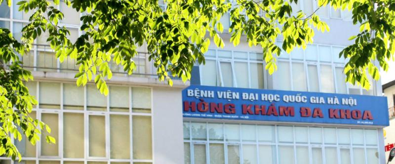 Bệnh viện Đại học Quốc gia Hà Nội - Phòng khám đa khoa