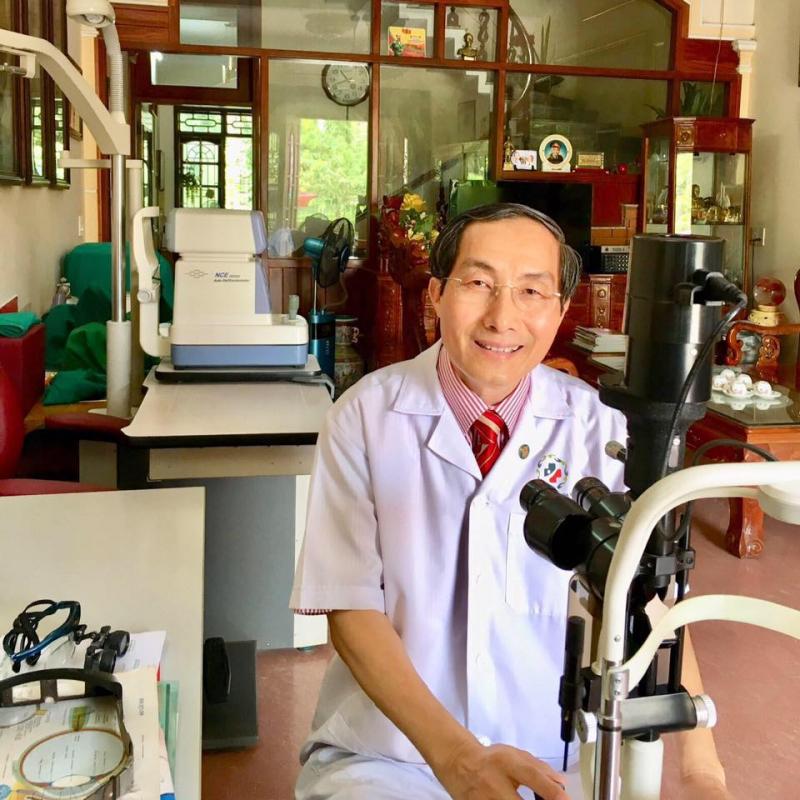 Phòng khám chuyên khoa mắt, kính mắt 56 với bác sĩ Lê Văn Thà