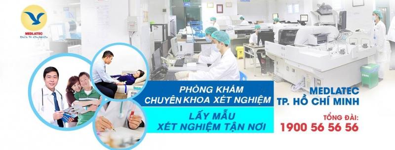 Phòng khám chuyên khoa xét nghiệm và chẩn đoán hình ảnh Medlatec TP.HCM