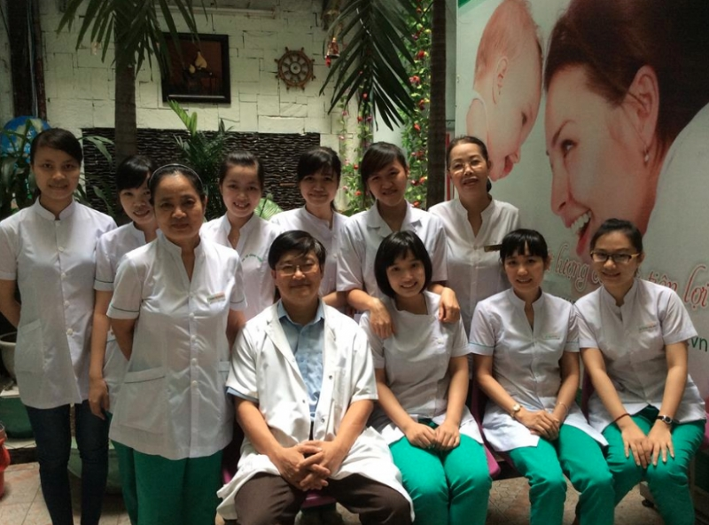Hình ảnh đội ngũ bác sĩ phòng khám Đa khoa Đông Phương.