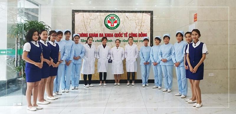 Phòng khám Đa Khoa Quốc Tế Cộng Đồng HN