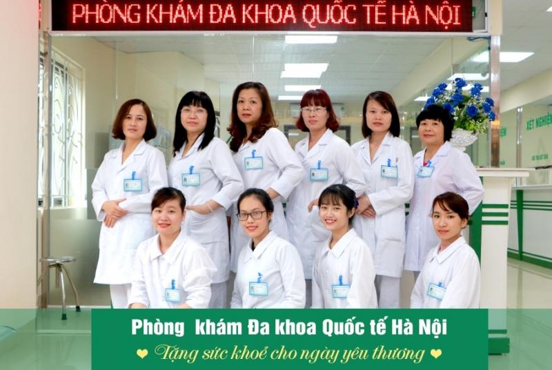 Đội ngũ bác sỹ phòng khám đa khoa quốc tế hà nội