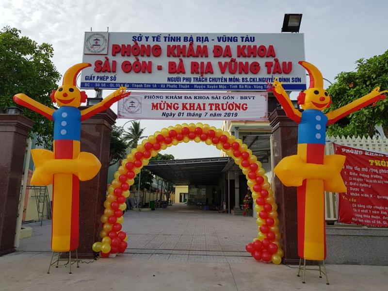 Phòng Khám đa khoa Sài Gòn - BRVT