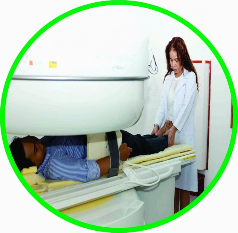 Phòng khám đa khoa Vạn Phước với trang thiết bị y tế hiện đại.