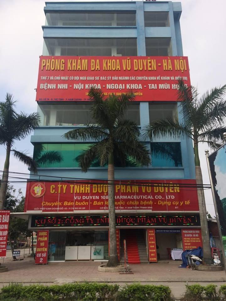 Phòng Khám Đa Khoa  Vũ Duyên - Hà Nội