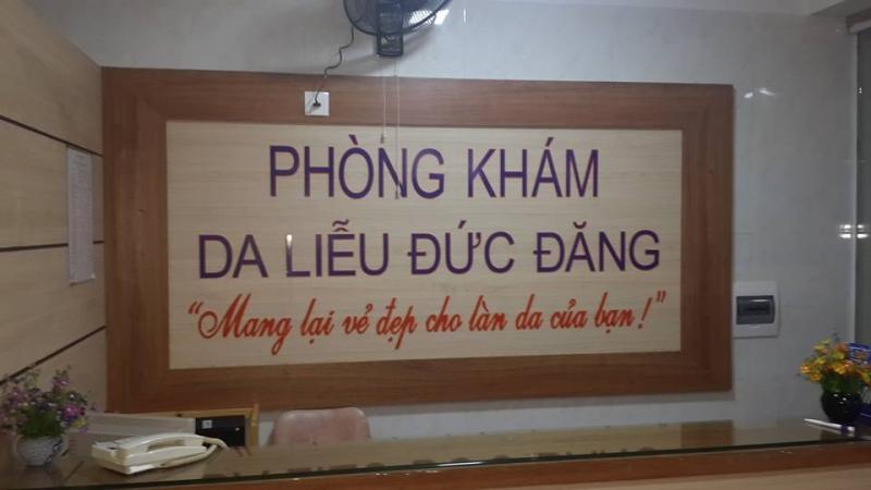 Phòng khám da liễu Đức Đăng - 42 Vương Thúc Mậu - thành phố Vinh.